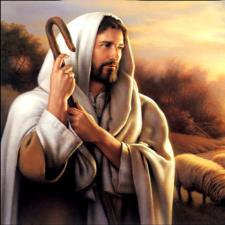 Jesus Good Shepherd - Obrázkek zdarma pro 128x128