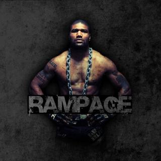 Quinton Jackson Rampage MMA fighting - Obrázkek zdarma pro iPad mini 2
