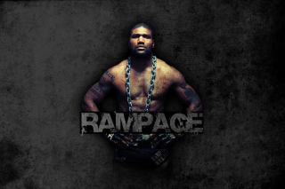 Quinton Jackson Rampage MMA fighting Picture for Android, iPhone and iPad