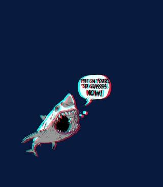 3D Shark - Obrázkek zdarma pro iPhone 4S