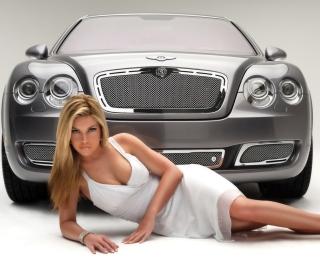 Posh Bentley Model - Obrázkek zdarma pro 208x208