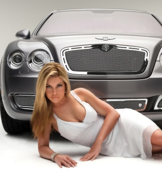 Posh Bentley Model - Obrázkek zdarma pro Nokia C-Series