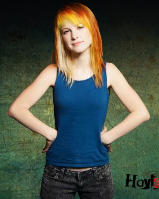 Hayley Williams, Paramore - Obrázkek zdarma pro 768x1280