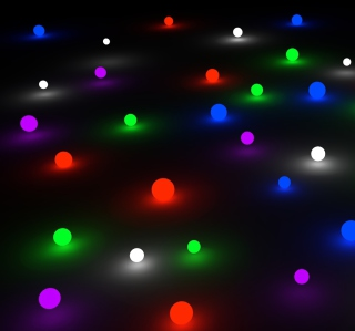 Glow Marbles - Obrázkek zdarma pro iPad mini