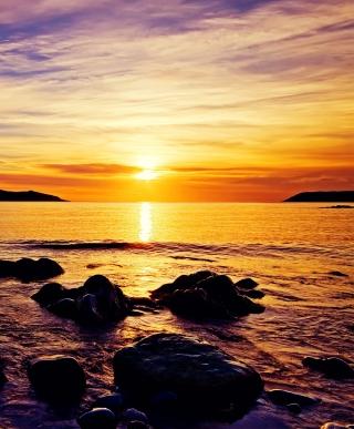 Golden Sunrise Beach - Obrázkek zdarma pro Nokia X2