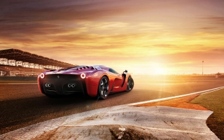 Ferrari 458 Concept Picture for Android, iPhone and iPad