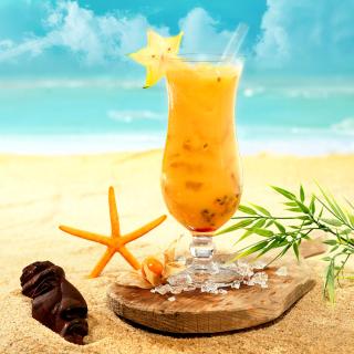 Carambola and Maraschino Citrus Cocktail - Obrázkek zdarma pro 128x128