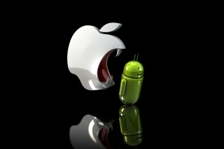 Free Apple Against Android Picture for Android, iPhone and iPad