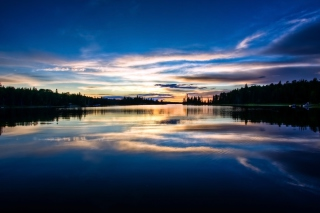Free Private Dock Sunset Picture for Android, iPhone and iPad