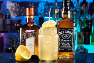 Cointreau and Jack Daniels - Obrázkek zdarma pro LG P970 Optimus