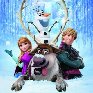 Frozen, Walt Disney - Obrázkek zdarma pro iPad