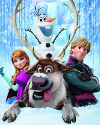Frozen, Walt Disney - Obrázkek zdarma pro Nokia C2-05