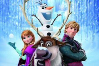 Frozen, Walt Disney - Obrázkek zdarma pro Motorola DROID 3