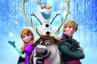 Frozen, Walt Disney - Obrázkek zdarma pro Samsung Galaxy Tab 4G LTE