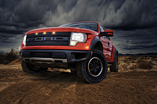 Ford F-150 SVT Raptor Background for Android, iPhone and iPad