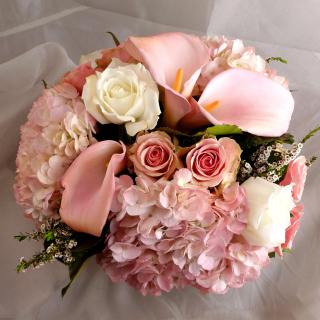 White Roses Bouquet - Obrázkek zdarma pro 208x208