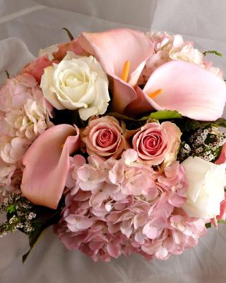 White Roses Bouquet - Obrázkek zdarma pro Nokia Lumia 800
