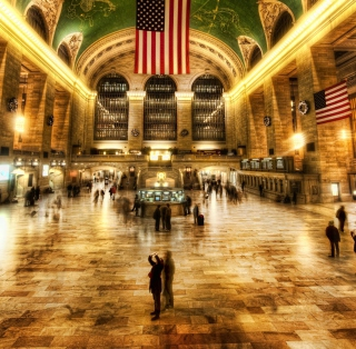 New York, Grand Central - Obrázkek zdarma pro 1024x1024