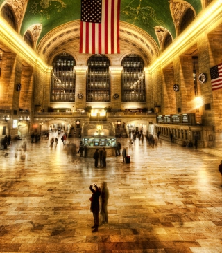 New York, Grand Central - Obrázkek zdarma pro iPhone 6 Plus