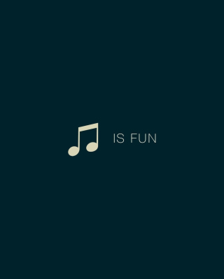 Music Is Fun - Obrázkek zdarma pro 480x640