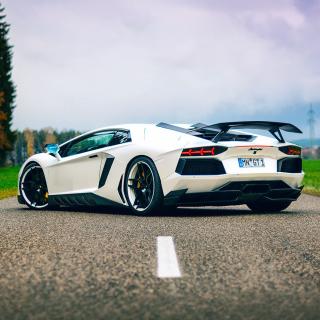 Lamborghini Aventador - Obrázkek zdarma pro iPad
