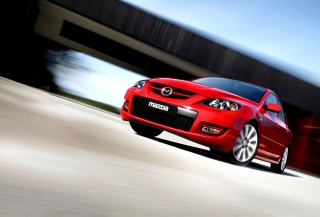 Mazda 3 Mps - Obrázkek zdarma pro Motorola DROID 2