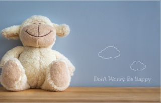 Happy Lamb Picture for Android, iPhone and iPad