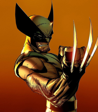 Wolverine - Obrázkek zdarma pro Nokia Asha 502