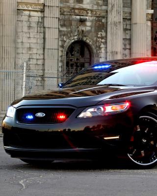 Ford Taurus Police Car - Obrázkek zdarma pro Nokia X2