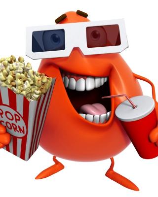 3d Film Monster - Obrázkek zdarma pro Nokia C-5 5MP