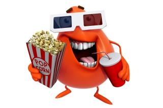 3d Film Monster - Obrázkek zdarma pro Samsung Galaxy Tab 2 10.1