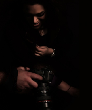 Photographer - Obrázkek zdarma pro 240x432