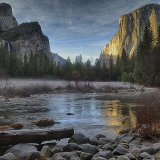 Yellowstone National Park in Wyoming - Obrázkek zdarma pro iPad mini 2