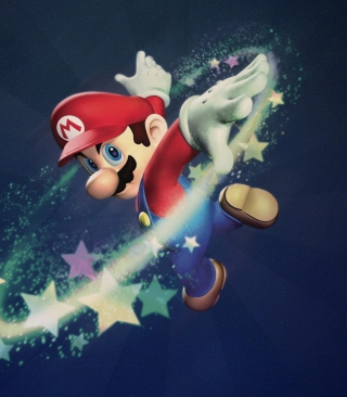Super Mario - Obrázkek zdarma pro 320x480