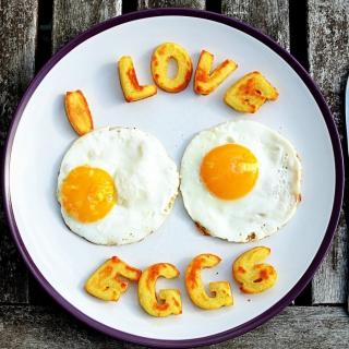 I Love Eggs - Obrázkek zdarma pro iPad 2