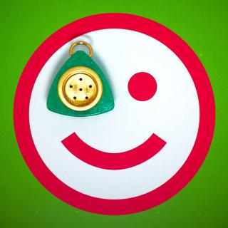 Plate Smile - Obrázkek zdarma pro 320x320