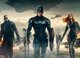 Capitan America - Obrázkek zdarma pro 1024x600