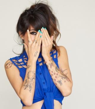Girl With Tattoos - Obrázkek zdarma pro Nokia C-5 5MP