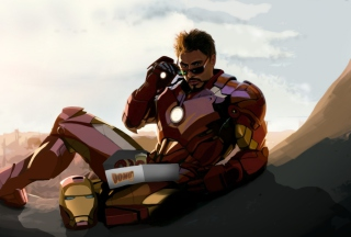 Free Tony Stark Iron Man Picture for Android, iPhone and iPad