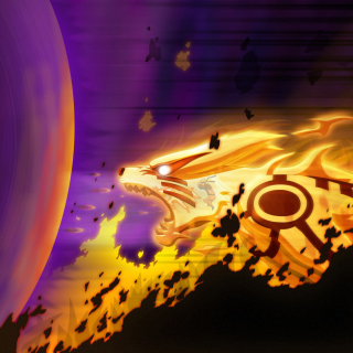 Kyuubi from Naruto - Obrázkek zdarma pro iPad