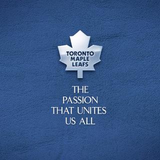 Toronto Maple Leafs NHL Logo - Obrázkek zdarma pro iPad 3