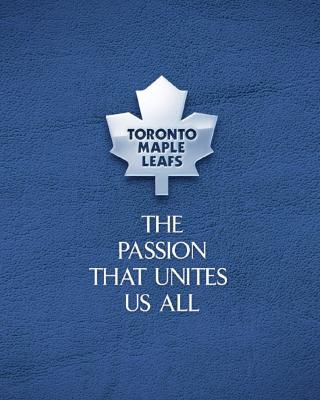 Toronto Maple Leafs NHL Logo - Obrázkek zdarma pro iPhone 4S