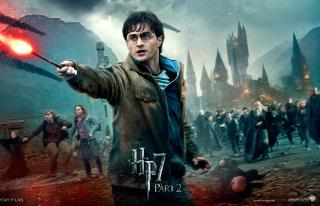 Harry Potter HP7 - Obrázkek zdarma pro Samsung Galaxy Tab 2 10.1