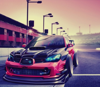 Subaru Impreza - Obrázkek zdarma pro 1024x1024