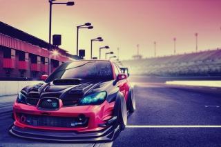 Subaru Impreza - Obrázkek zdarma pro Nokia XL