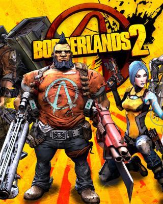 Borderlands 2 - Obrázkek zdarma pro Nokia Asha 502