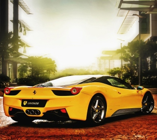Ferrari 458 Italia - Obrázkek zdarma pro iPad mini 2
