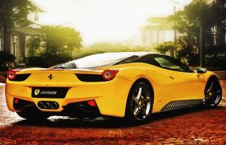 Ferrari 458 Italia - Obrázkek zdarma pro Widescreen Desktop PC 1920x1080 Full HD