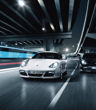Night Street Racing - Obrázkek zdarma pro 360x400