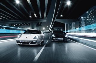 Night Street Racing - Obrázkek zdarma pro Samsung Galaxy S II 4G